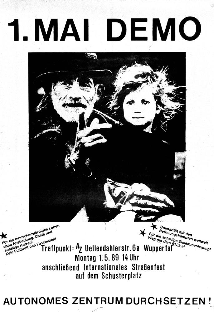 autonome 1.Mai Demo 1989