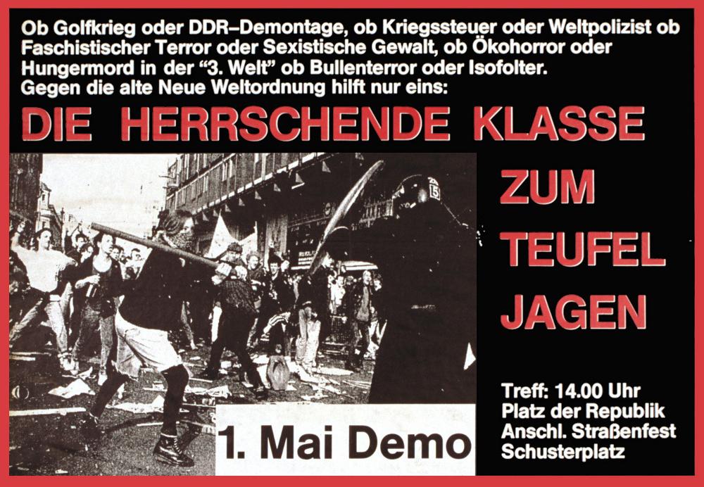 autonome 1.Mai Demo 1991