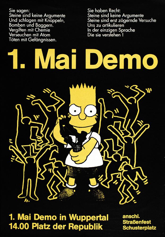 autonome 1.Mai Demo 1992