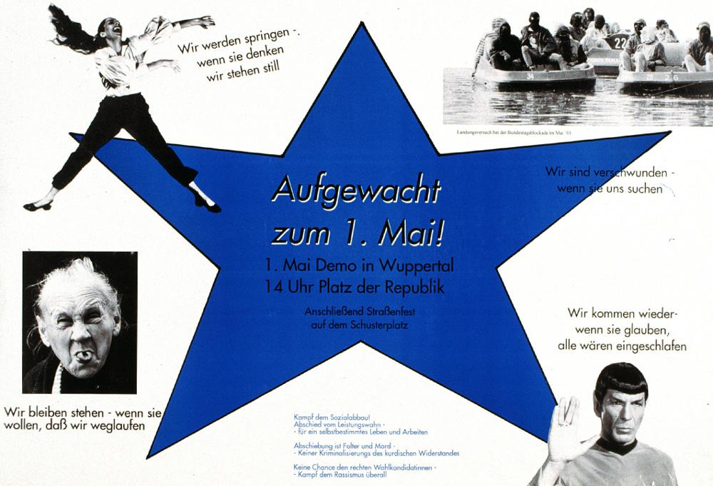 autonome 1.Mai Demo 1994