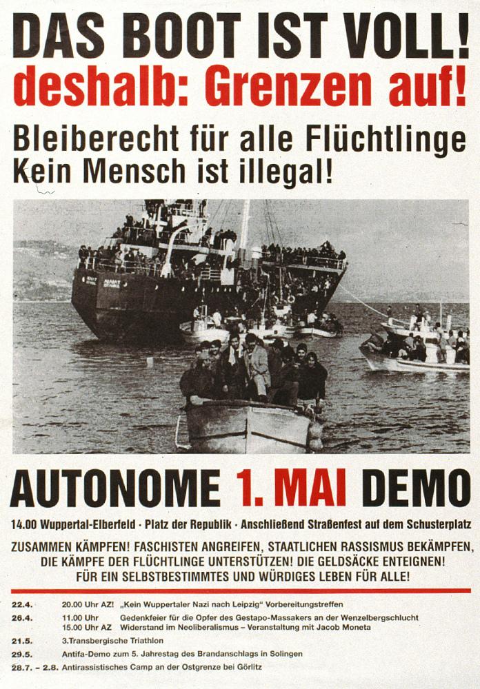 autonome 1.Mai Demo 1998