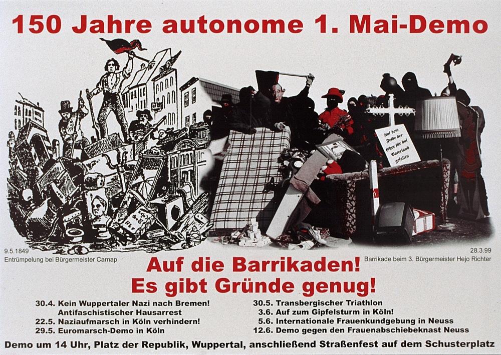 autonome 1.Mai Demo 1999