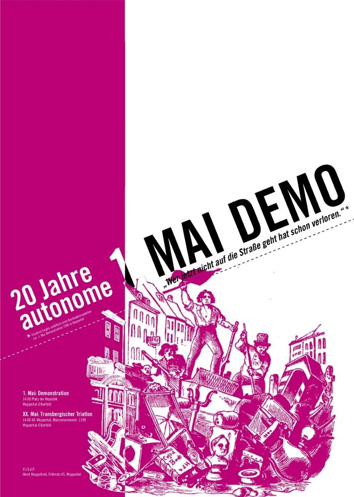 autonome 1.Mai Demo 2006