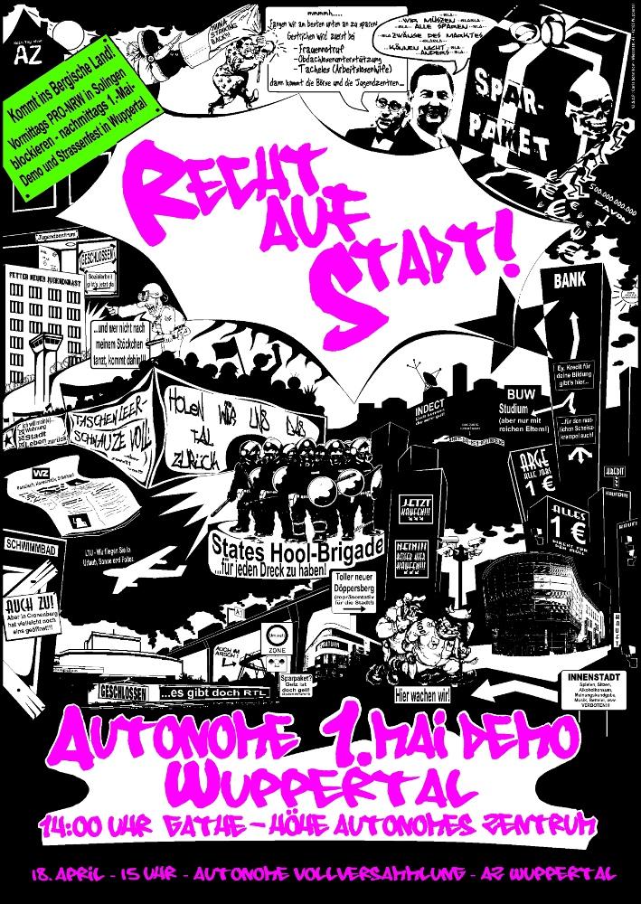 autonome 1.Mai Demo 2010