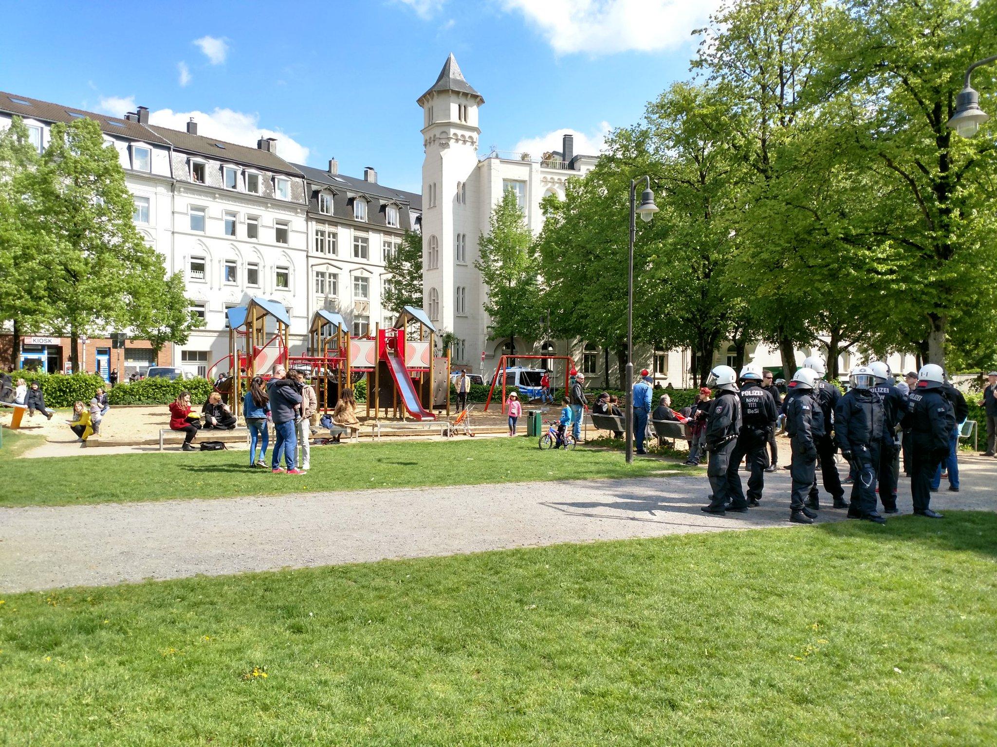 Wuppertal: Autonome 1.Mai-Demo 2018