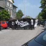 Unangemeldete autonome 1. Mai-Demo läuft gut gelaunt ohne Polizeibegleitung durch die Elberfelder Nordstadt